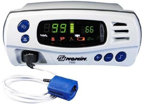 Pulse Oximeter Tabletop w/Accessories by Nonin Medical