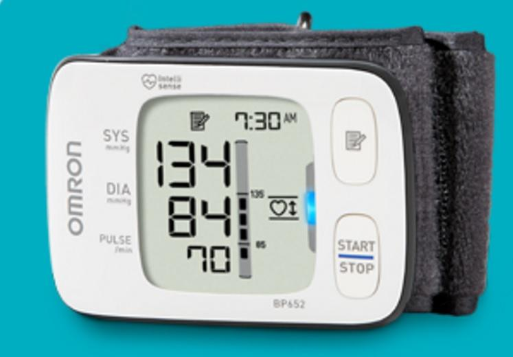 Blood Pressure Monitor Wrist 7 Series Ultra Silent by Omron
