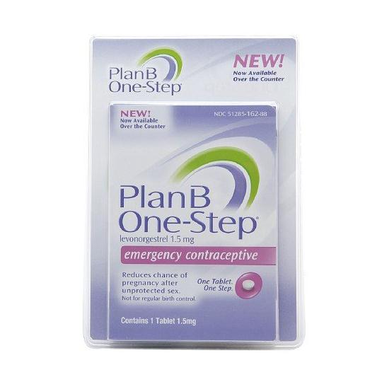 Pregnancy Plan B One-Step Emergency Contraceptive 1.5mg Tab VY Teva Phamaceuticals