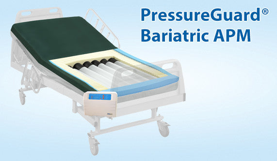 "Mattress 80"" APM PressureGuard® 750Lb 7"" Bariatric Alternating Pressure Air Therapy by Span"