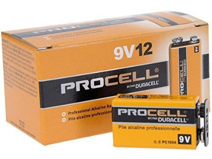 Battery Duracell Procell by Proctor and Gamble