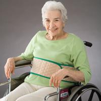 Belt Wheelchair Self-Releasing Wrap-Around Beige by Posey Company