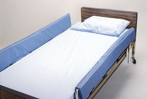 Pad Side Rail Bed Fold Over with Cushion Top Cover by Skilcare