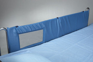Pad Side Rail Bed With View Thru Windows by Skilcare