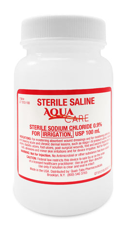 Saline for Irrigation 0.9% Sterile by Gericare
