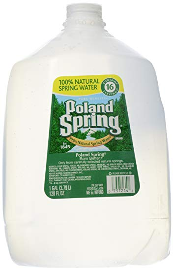 Water Distilled by Poland Springs