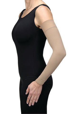 Armsleeve Long Length 15-20mmg w/SilBand Lymphedema Bella Strong Natural by Jobst