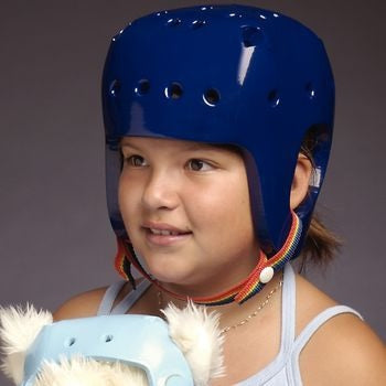 Helmet Lightweight Hard Shell Royal Blue by Danmar Products
