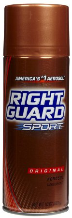 Deodorant AntiPerspirant Right Guard Original 10oz  Aerosol Sprays by Dial Corporation