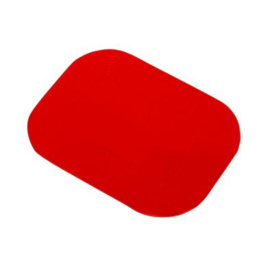 "Dycem Nonslip Pads 14""x10"" Red by Fabrication Enterprises"