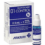 Monitor Diabetes GLUCOCARD 01 & Accessories Latex Free Rx Item by Alkray