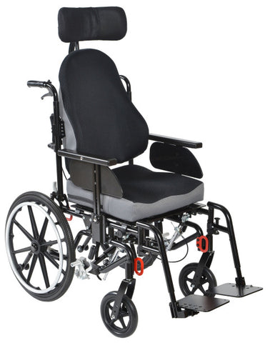 Wheelchair Tilt in Space 20X20 Kanga Adult Folding Frame 45º by Drive Medical