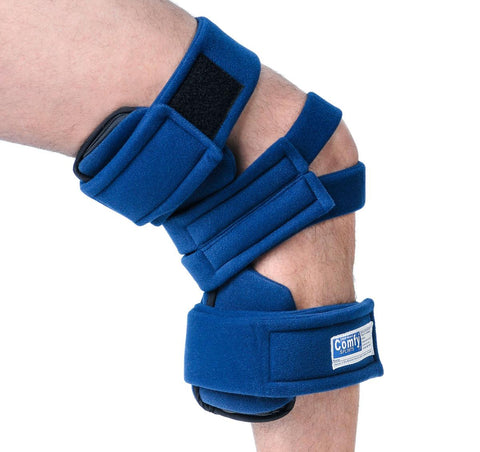 Brace Knee Orthosis Small Terry Navy by Comfy Splints