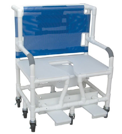 Chair Shower Bariatric 700lb PVC by MJM