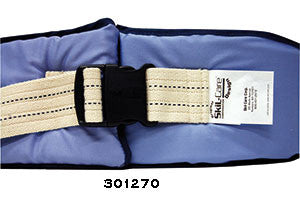 Belts, Wheelchair Resident-Release Nylon and Soft Belt Cushioned by Skilcare