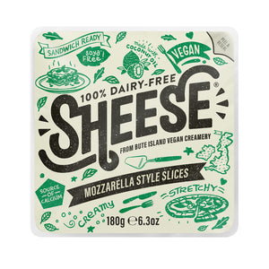 Sheese Mozzarella Style (Sliced) 200g