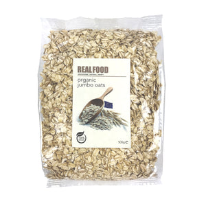 Real Food Organic Jumbo Oats 500g