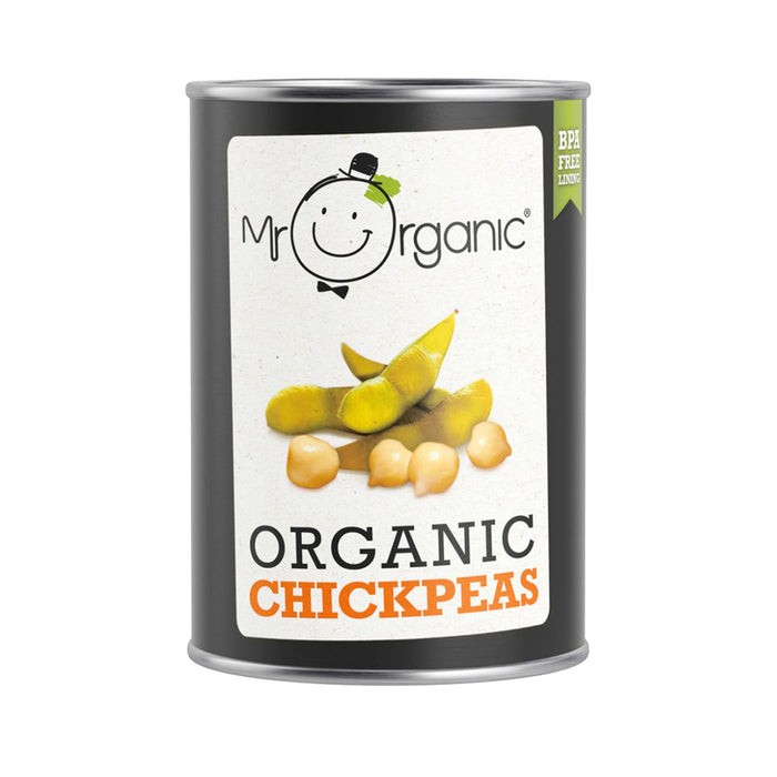 Mr Organic OG Chick Peas 400g