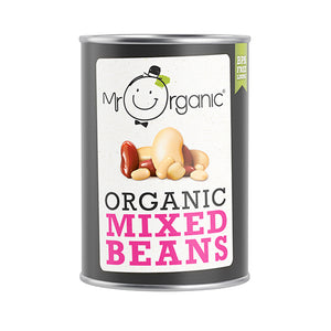 Mr Organic Mixed Bean 400g (BPA Free)