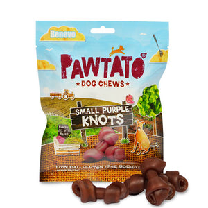 Benevo Pawtato Purple Small Knots 150g