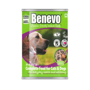 Benevo Duo Vegan Cat and Dog Food 369g x 12