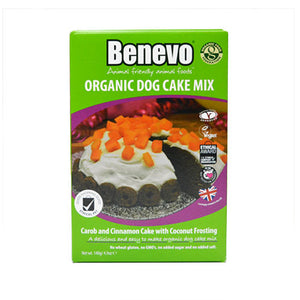 Benevo Organic Dog Cake Mix 140g