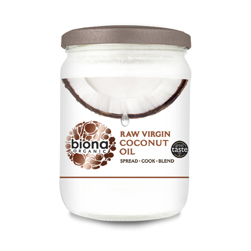 Biona Organic Raw Virgin Coconut Oil 400g
