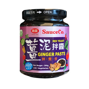 SauceCo Red Yeast Ginger Paste 260g