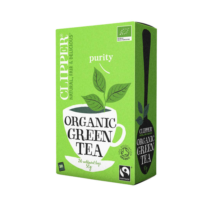 Clipper Green Tea Organic Fairtrade (26 bags)