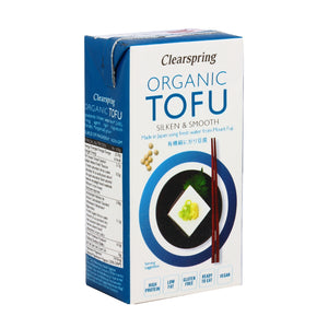 Clearspring Organic Japanese Tofu (Silken & Smooth) 300g