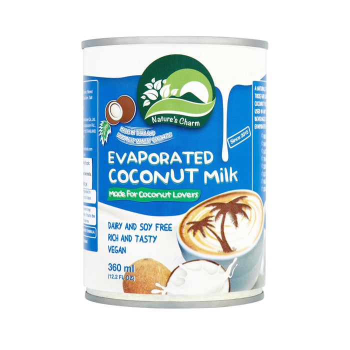 Nature's Charm Vegan Evaporated Coconut Milk  360g