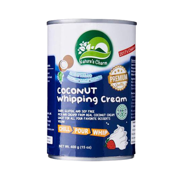 Nature's Charm Vegan Coconut Whipping Cream 400ml