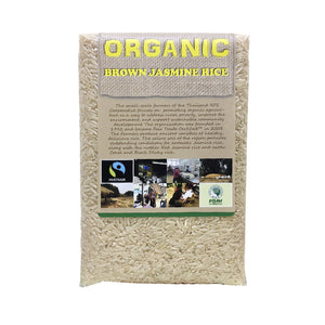 Thailand Organic Jasmine Brown Rice 1kg