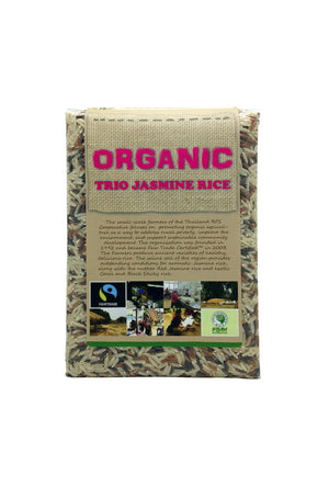 Green Barn Food Thailand Organic Jasmine Trio Rice 泰國有機3色米 1kg