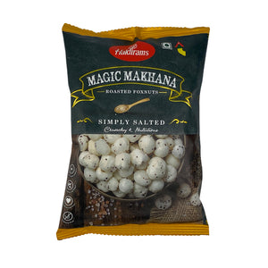 Haldiram's Roasted Fox Nuts - Simply Salted 30g