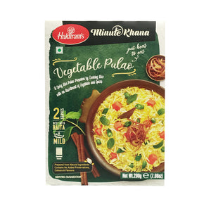 Haldiram's Rice & Assorted Vegetable 200g