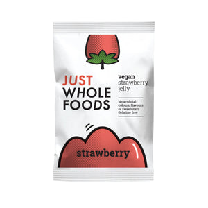 Just Wholefoods Veg Strawberry Jelly Crystals 85g