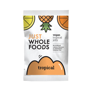 Just Wholefoods Jelly Crystals Tropical 85g