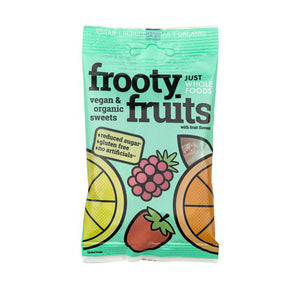 Just Wholefoods Frooty Fruits  100g