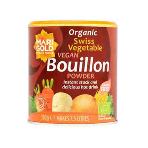 Marigold Organic Swiss Vegetable Bouillon Powder (Vegan) 150g