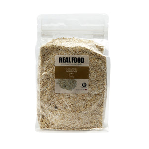 Real Food Organic Porridge Oats 500g