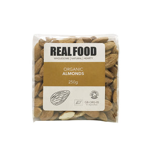 Real Food Organic Almonds 250g