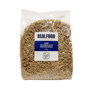 Real Food Dark Mince Non GMO  375g