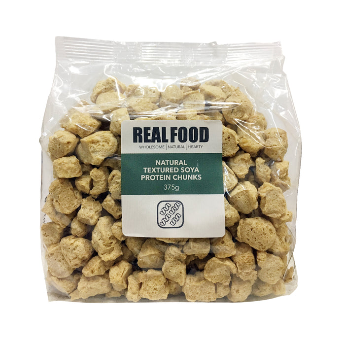 Real Food Natural Uncoloured Chunks Non GMO  375g