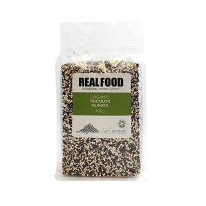 Real Food Organic Tricolor Quinoa 500g