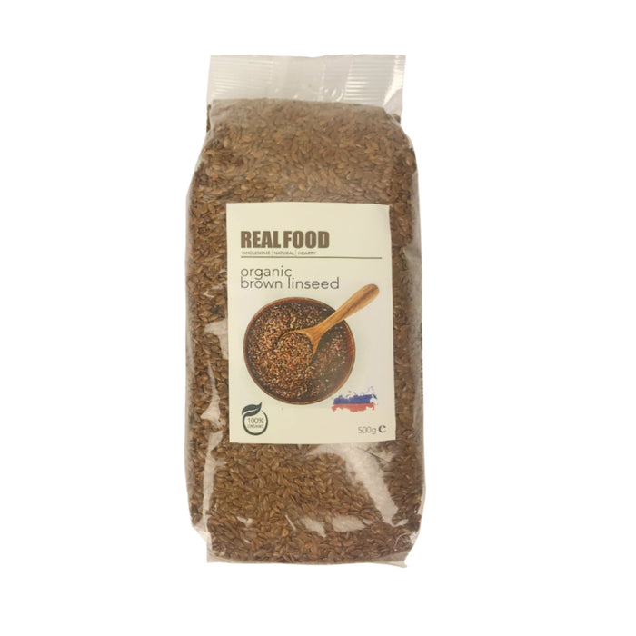 Organic Brown Linseed  500g