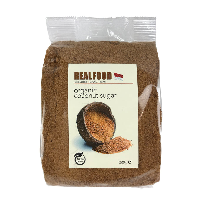 Real Food Organic Coconut Sugar 500g