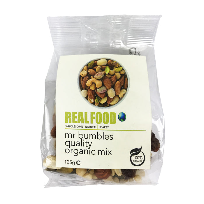 Real Food Organic Mr Bumbles Quality Mix 125g