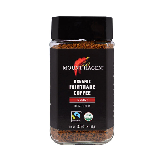 Mount Hagen Organic Freeze Dried Instant Coffee 100g