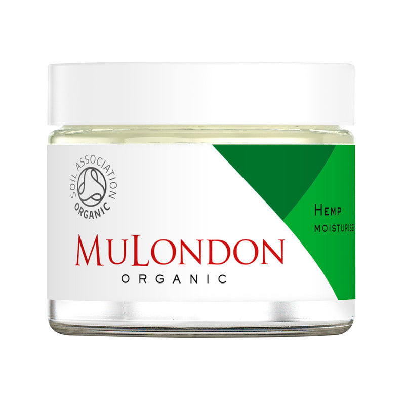 MuLondon Organic Hemp Moisturiser 60ml